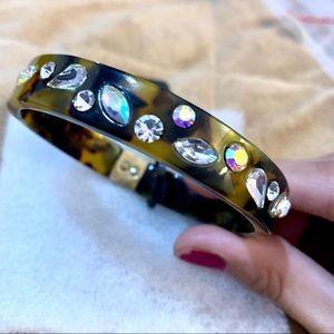 Rhinestone bangle bracelet ✨